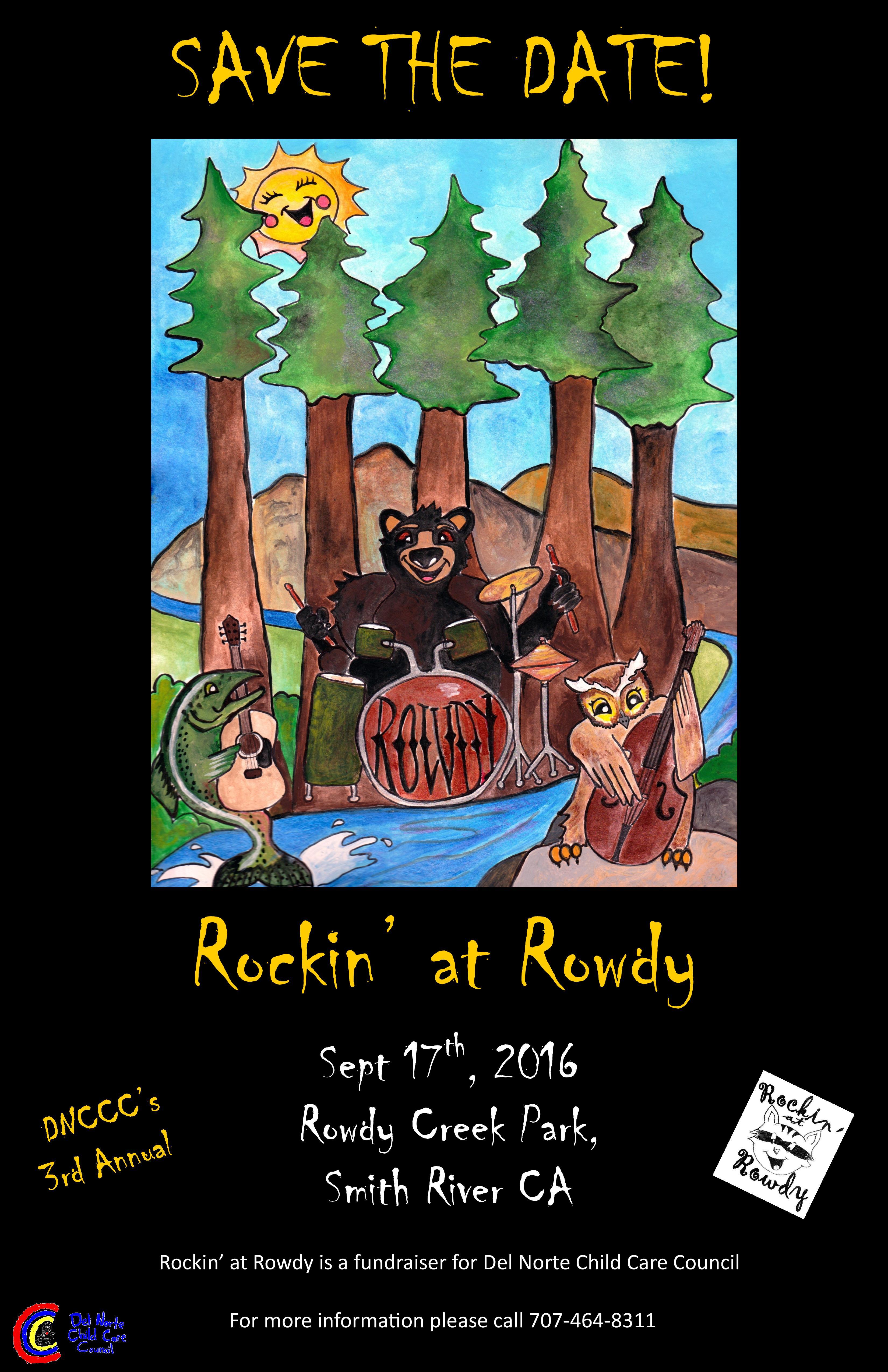 Rocking at Rowdy - DNCCC