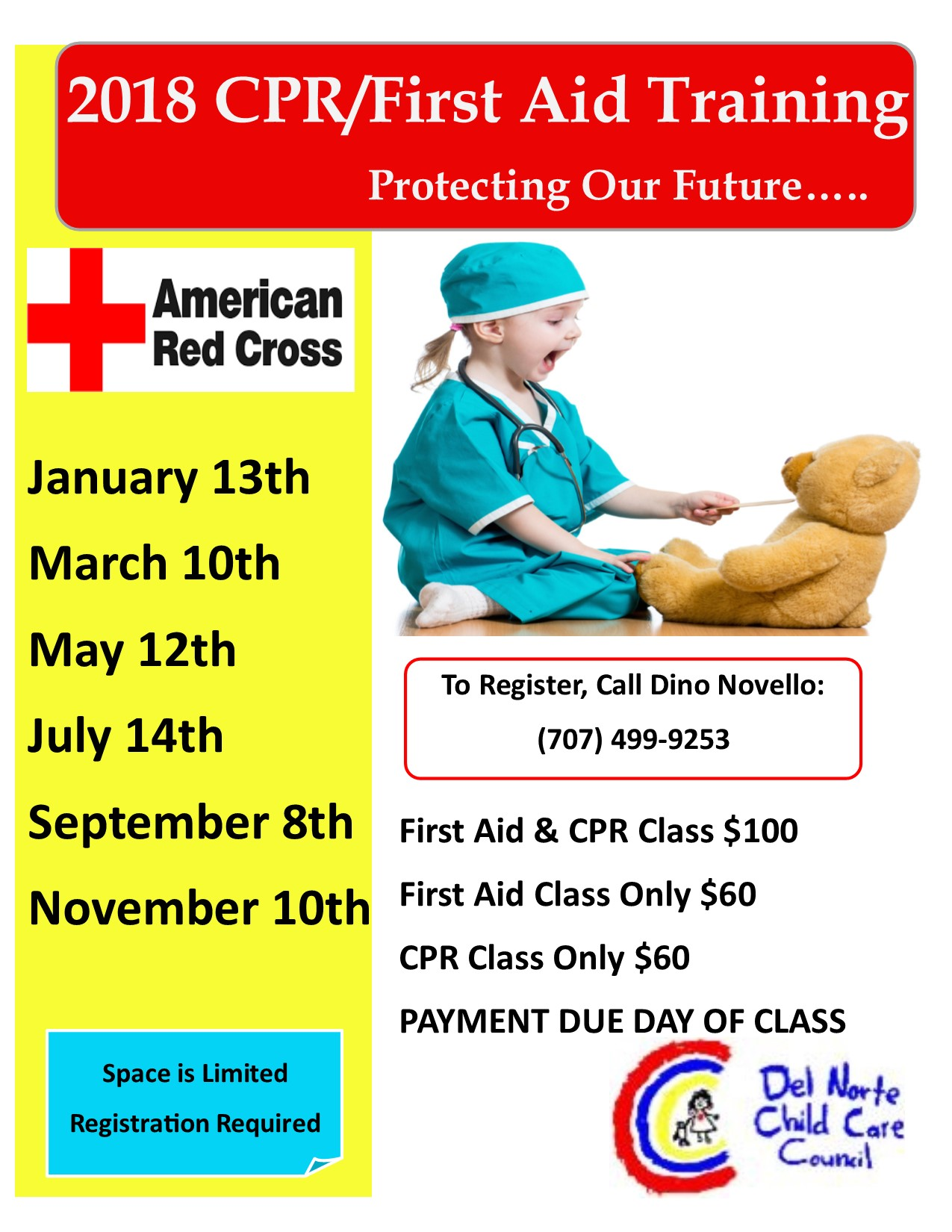 CPR & First Aid Training - Del Norte Child Care Council